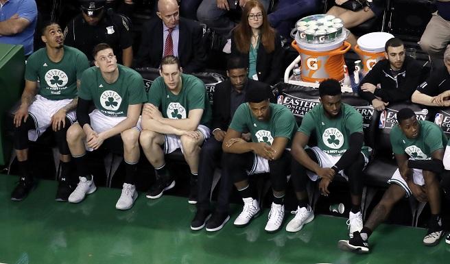Cavaliers Celtics Basketball_481476