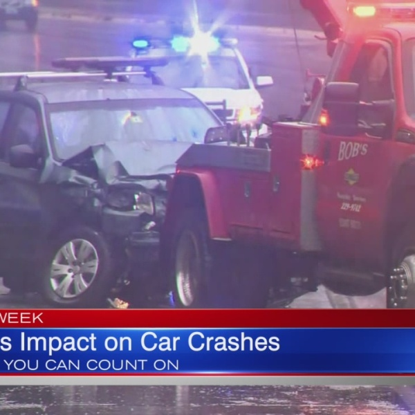 AAA: Weather Contributes to 17% of Crashes in Northeast
