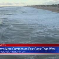 Weather Week: East Coast Thunderstorms
