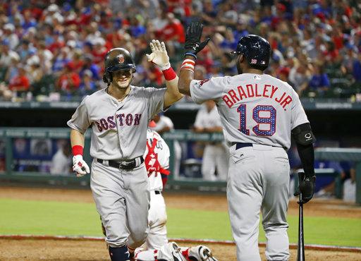 Red Sox Rangers Baseball_508924