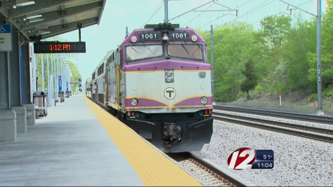 MBTA commuter rail T train RI_174444