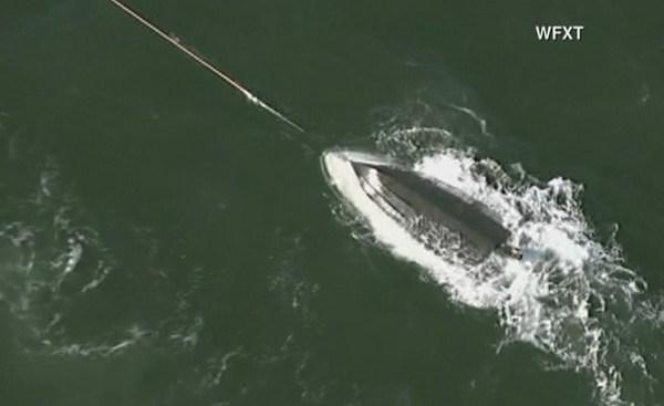 Wareham boat capsizes_522272