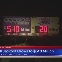 Powerball jackpot reaches $510M
