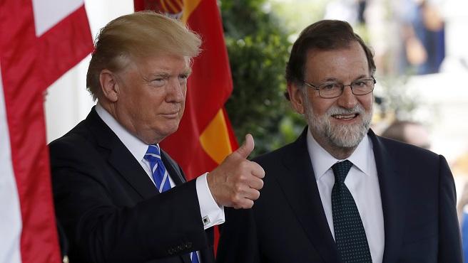Donald Trump, Mariano Rajoy_559302