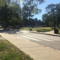 Skateboarder struck by SUV at URI_548425