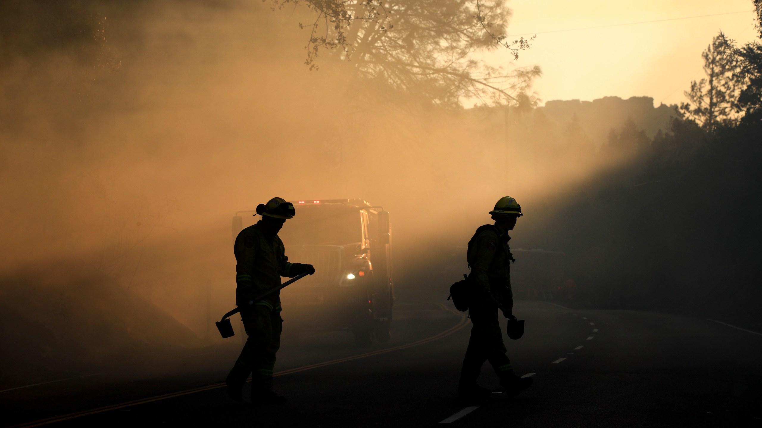 APTOPIX California Wildfires_569977