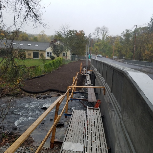 capron bridge work near completion_585774