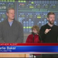 Gov. Baker: SE Mass. is biggest concern for winter storm