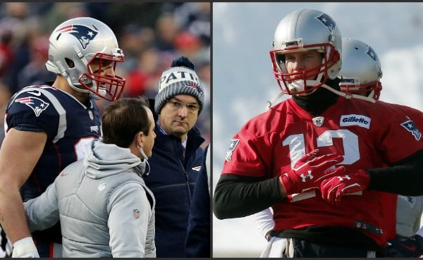 Rob Gronkowski concussion, Tom Brady hand injury_629992