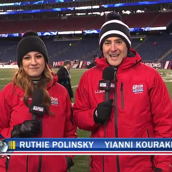 Yianni and Ruthie live at Gillette Stadium after Patriots Titans_622945