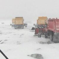 T.F. Green tarmac during January winter storm_616559