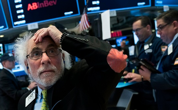 Dow Jones Industrials Closes Down Over 600 Points_637086