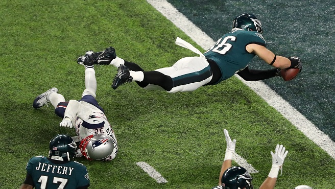 Super Bowl LII - Philadelphia Eagles v New England Patriots_636520