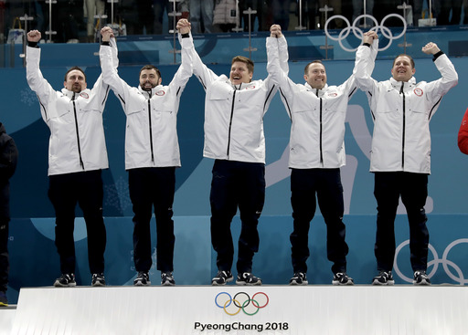Pyeongchang Olympics Curling Men_652304