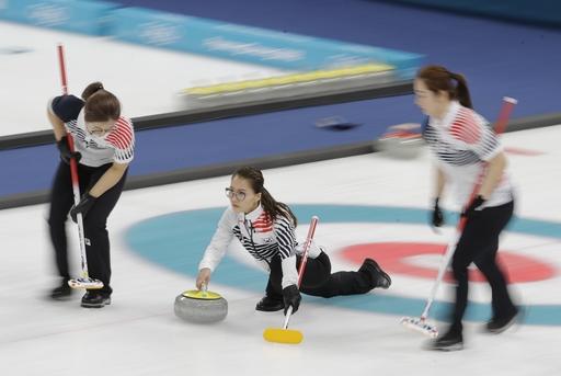 Pyeongchang Olympics Curling Women_650709