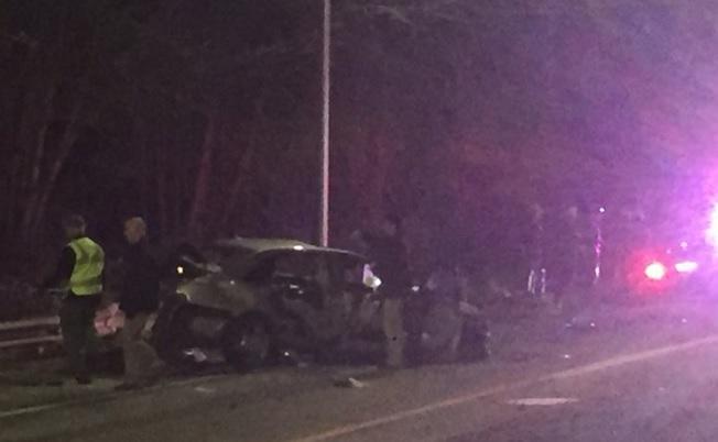 Providence Route 6 crash