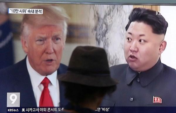 Donald Trump, Kim Jong Un_658775