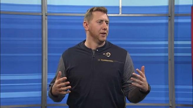 RI native and LA Rams coach Liam Coen_655150