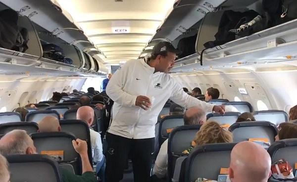 PC head coach Ed Cooley on flight_662342