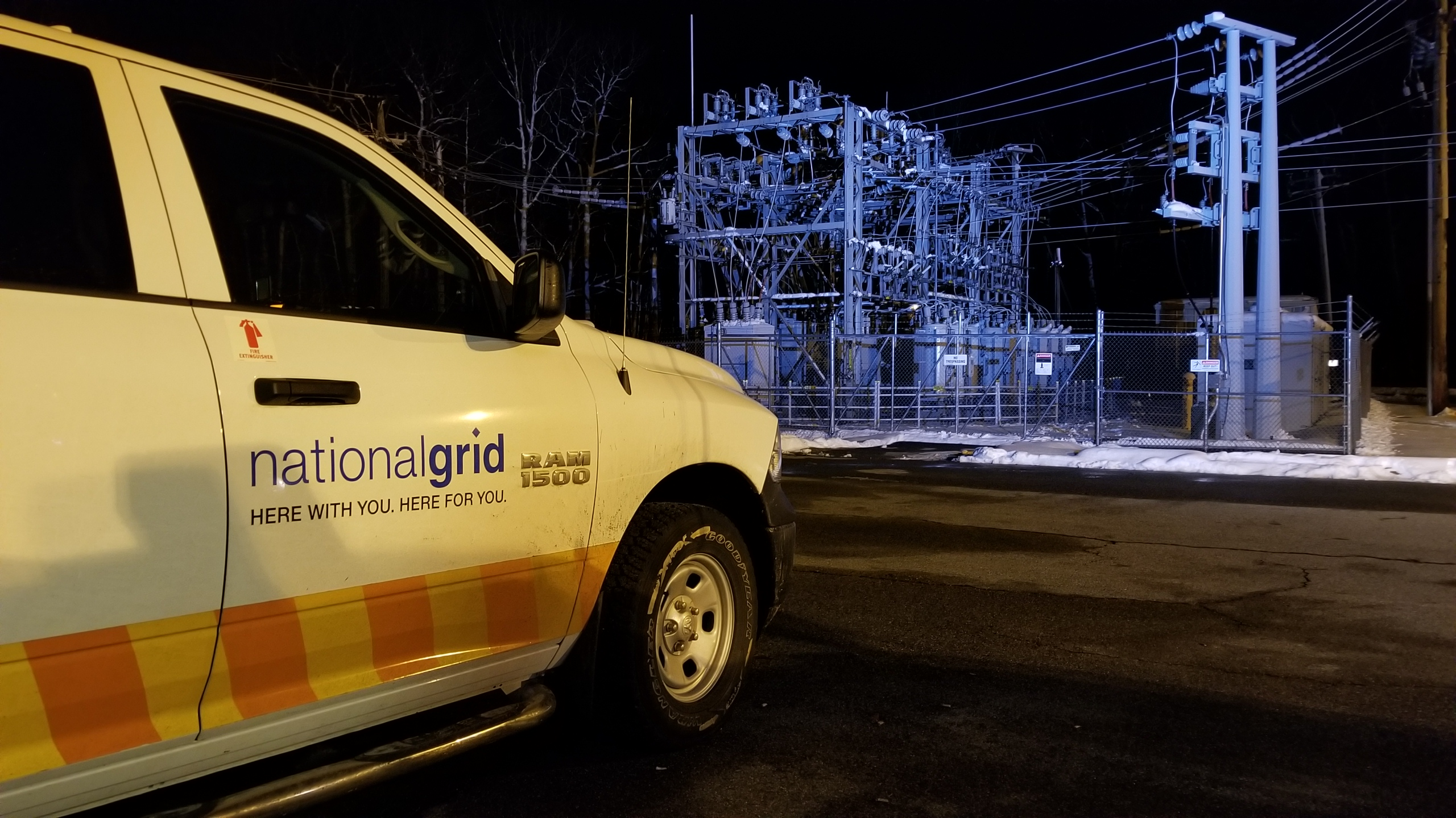 National Grid Scituate substatio - photo Corey Welch