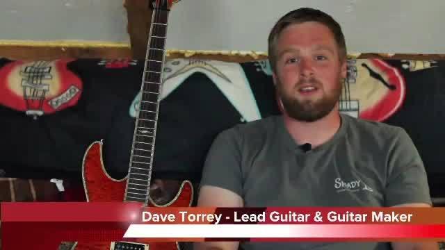 CW News Now: Dave Torrey - Musician & Guitar Maker Part 1
