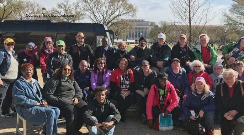 Rhode Islanders attend MLK rally