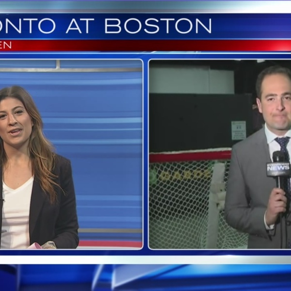 Yianni joins Ruthie on the Sports Wrap
