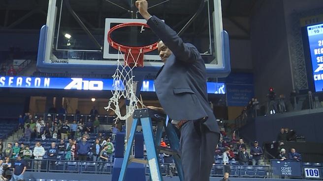 URI assistant head coach David Cox