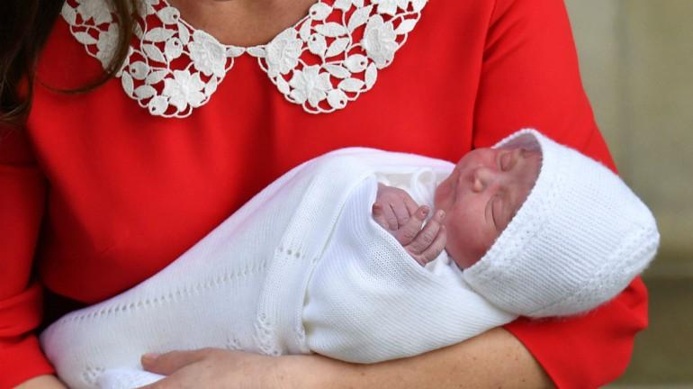 royal baby named