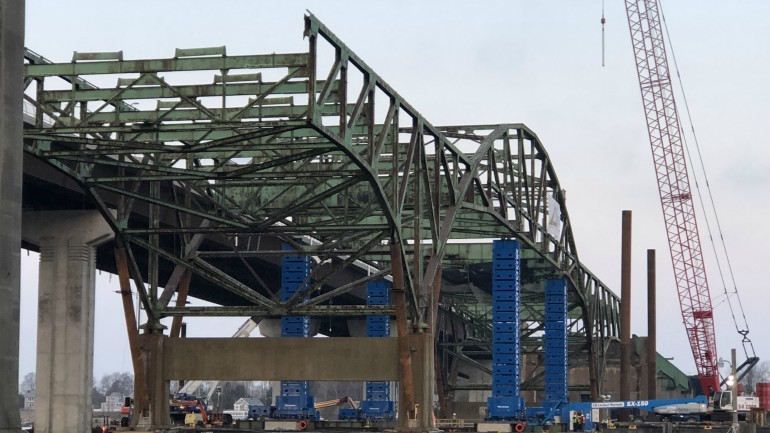 old sakonnet river bridge demolition