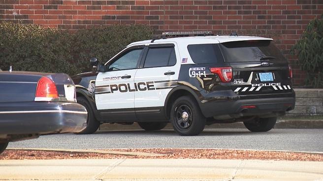 Woonsocket police cruiser