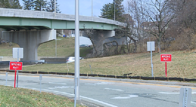East Providence Parkway and Warren Avenue ramps