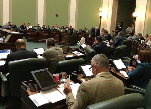 RI Senate votes on gun control bills