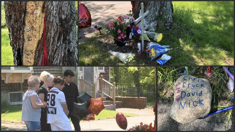 East Bridgewater fatal crash memorial