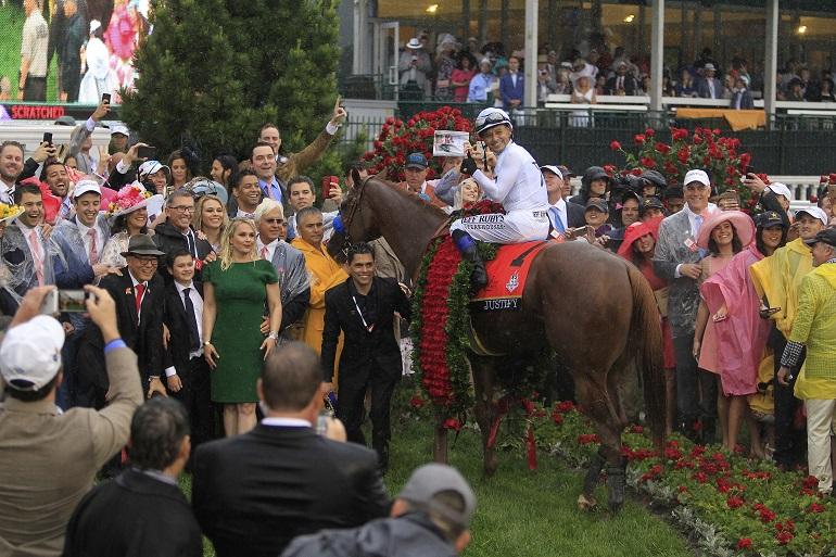 APTOPIX Kentucky Derby Horse Racing_1528586554565