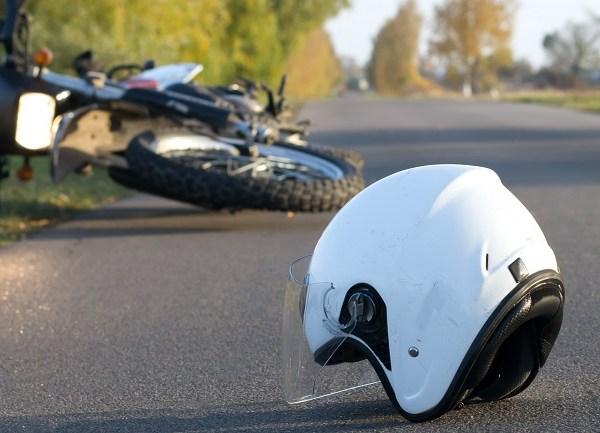 motorcycle crash generic istock