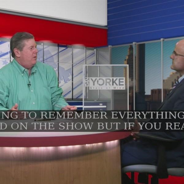 8/2: Joe Fleming works RI gubernatorial race numbers on State of Mind