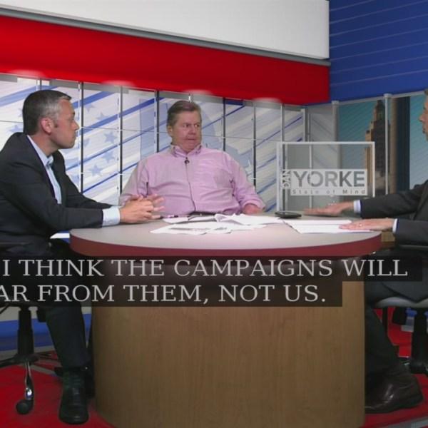 8/7: Tim White, Ted Nesi breakdown WPRI 12/ RWU poll, talk debates on State of MInd