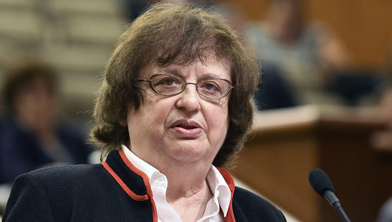 New York state Attorney General Barbara Underwood