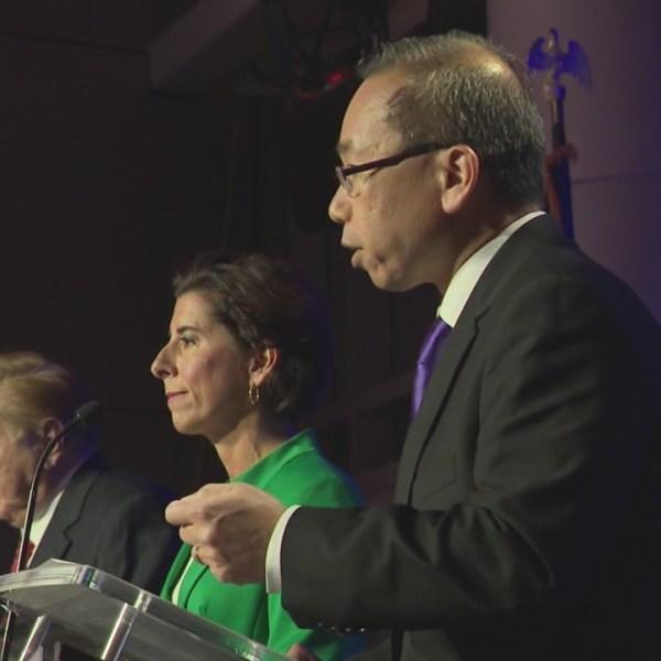 Candidates spin their performances at WPRI debate