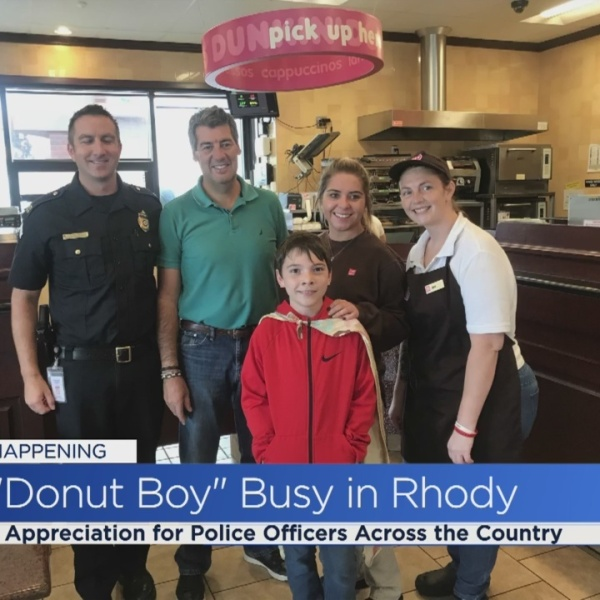 Dunkin' Donuts helps Donut Boy carry out a mission