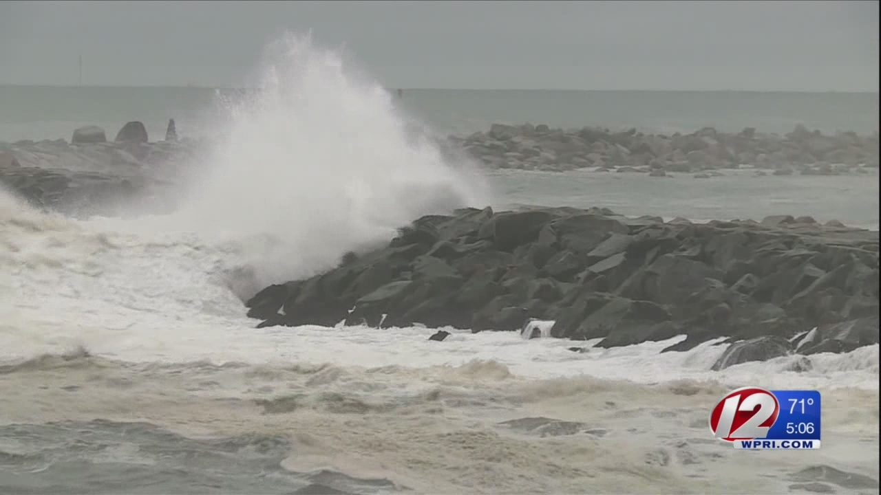 Officials Issue Warnings as Florence Creates High Surf