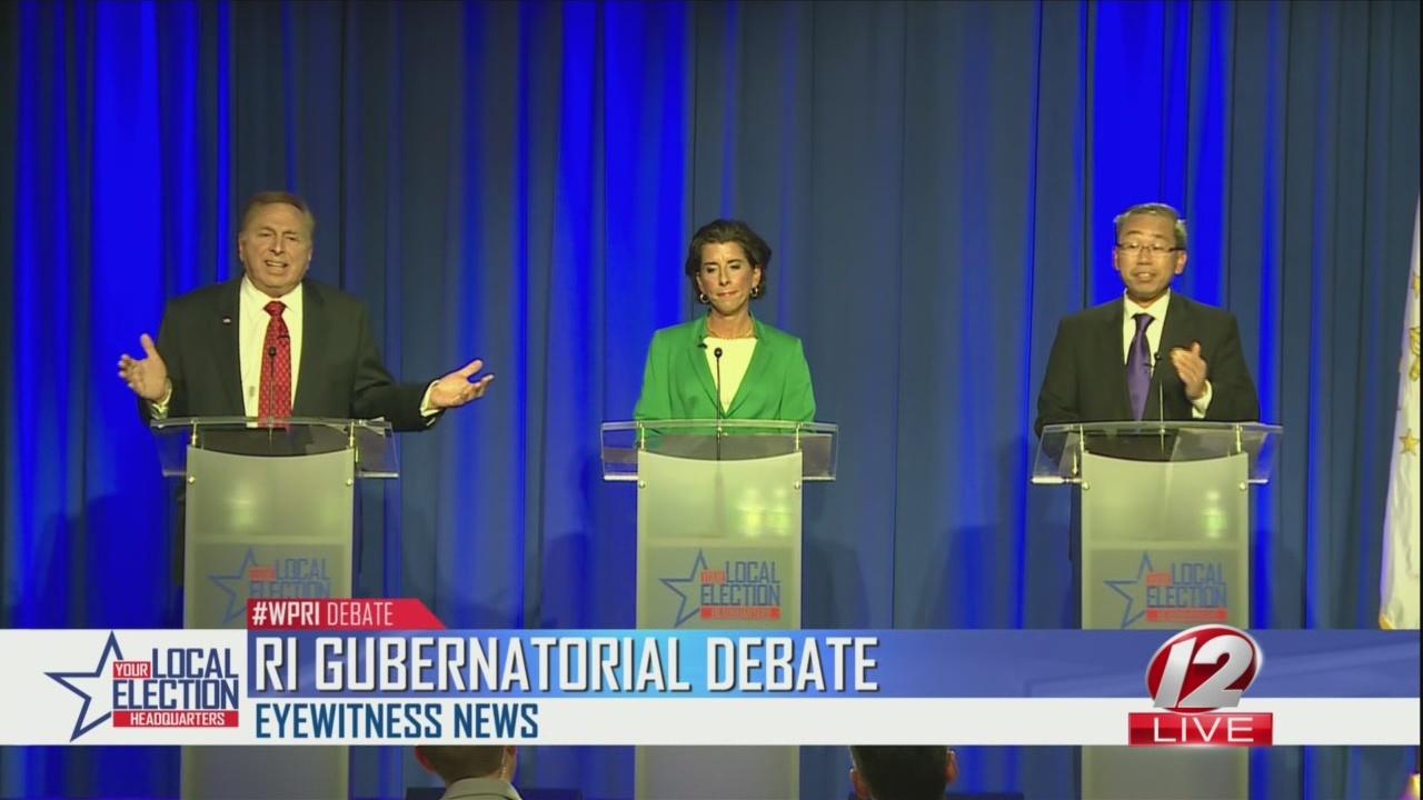 Watch in Full: WPRI 12 Gubernatorial Debate