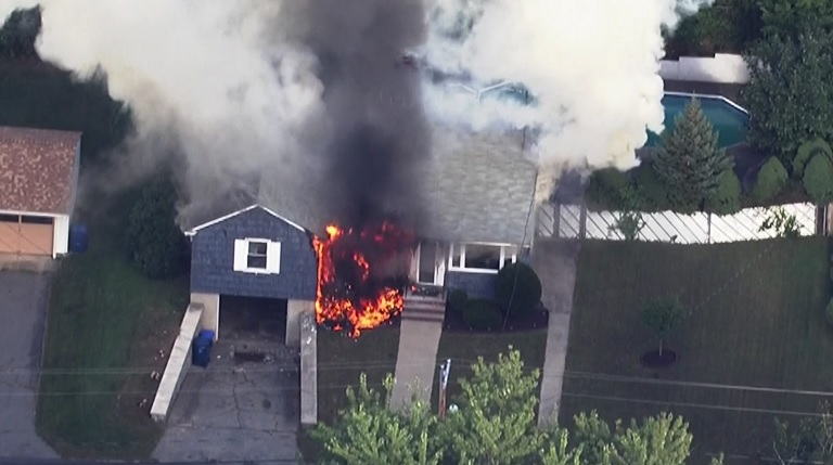 Andover explosion, fire