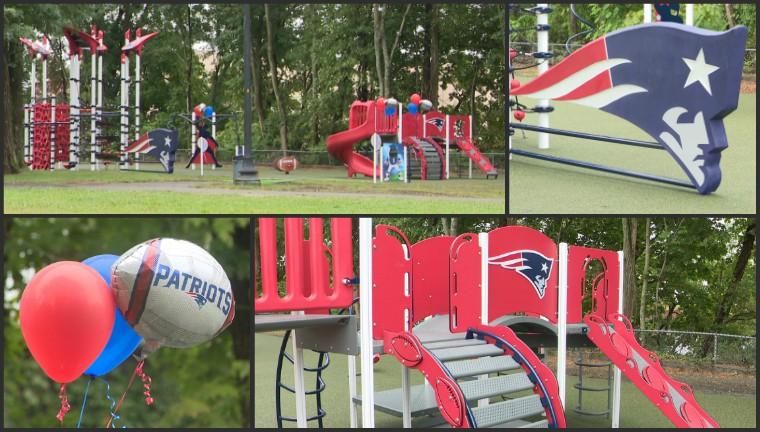 New Patriots playground in Taunton