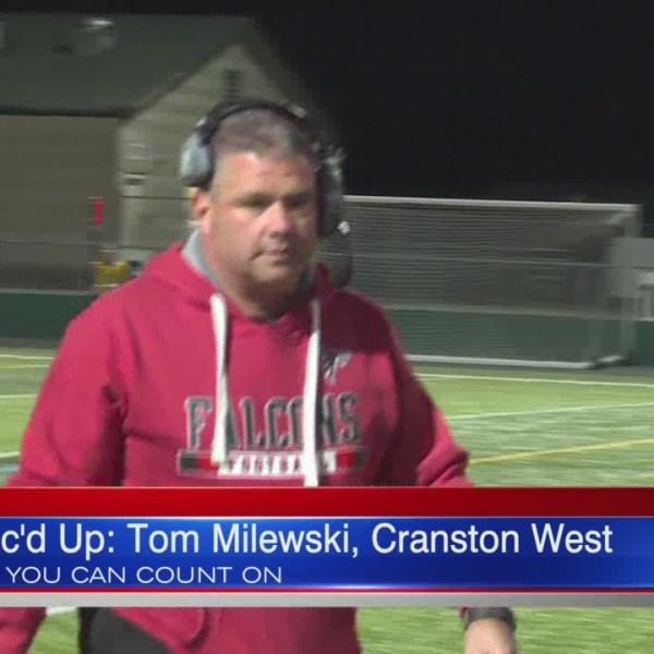 Mic'd Up: Cranston West's Tom Milewski