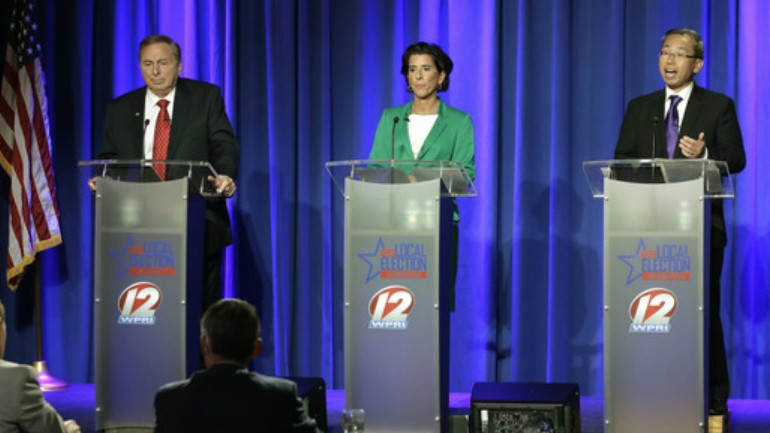 Female votes could be deciding factor in RI Governor's race