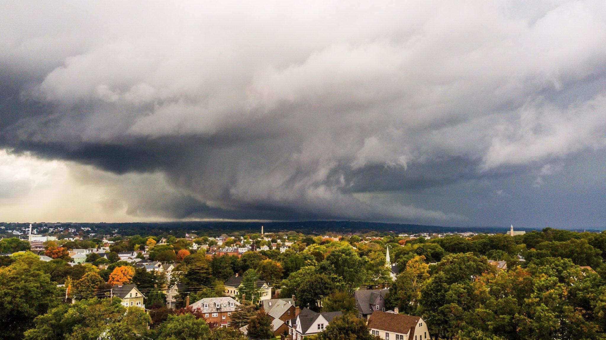 Pawtucket storm clouds Oct. 23