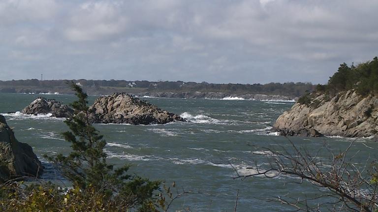 Jamestown coast Fort Wetherill State Park