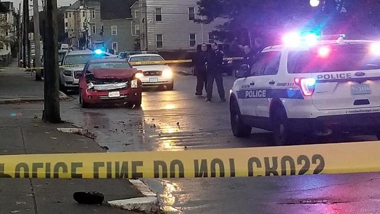 New Bedford pedestrian crash Weld Street